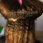 I hope we are not such natural snobs that we can't appreciate some texlaxed texture . . . Jeni of Just Grow Already has some pretty hair