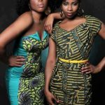 Love the hair and the African print outfits!
