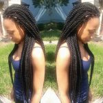 Some more beautiful twists by @braidsbyguvia