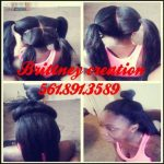 A flawless sew in by Brittney