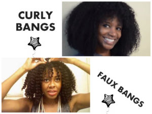 Everything You Need To Know About Cutting Bangs With Natural Hair