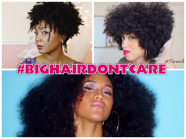 Big Sexy Springtime Natural Hair Puffs And Afros