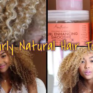 3A Curls – Big Curly Natural Hair Tutorial