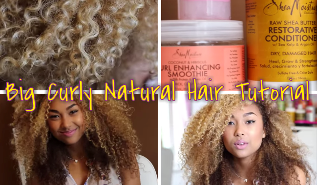Awe Inspiring 3A Curls Big Curly Natural Hair Tutorial Hairstyles For Women Draintrainus