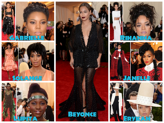 Hair And Highlights From the 2014 Met Gala1