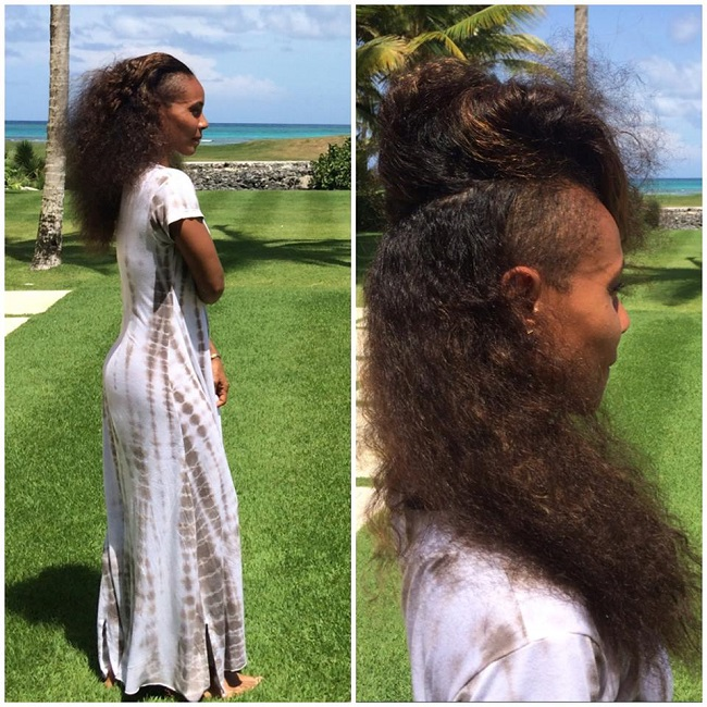 Jada Pinkett Smith Natural Hair