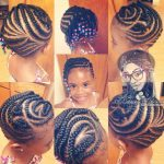 Kinetra's gorgeous braided style on her daughter @bubeultimate