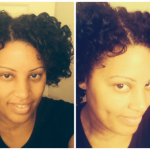 Lashonna's Two Strand Twist Out with Perm Rods