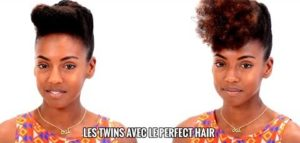 Le French Roll - How To Do a French Roll On Natural Hair