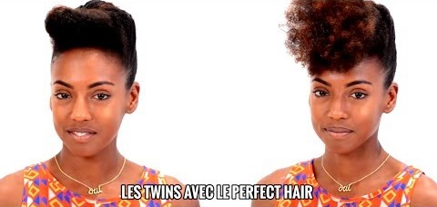 Le French Roll – How To Do a French Roll On Natural Hair