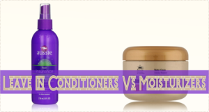 What Is The Difference Between A Leave In Conditioner And A Moisturizer?