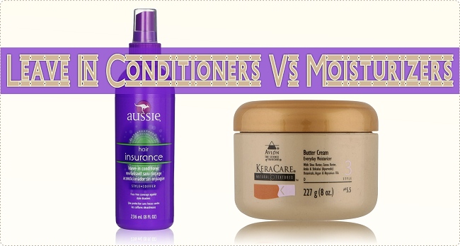 Leave in conditioners vs moisturizers are they the same
