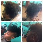 Lovely frohawk @scissorhappychante