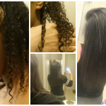 From curly to straight @lifeistrulyblessed