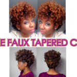Two Ways to Achieve a Faux Tapered Cut