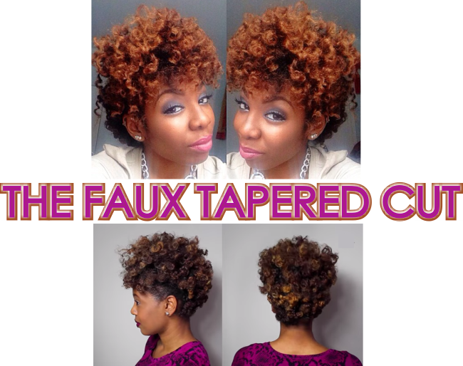 The faux tapered cut examples