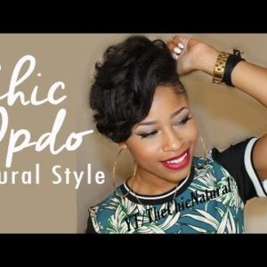 A Fly Spring Or Summer Hairstyle For Natural Hair