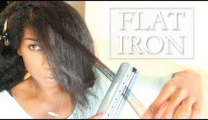 Do You Like Your Hair When It's Flat Ironed?