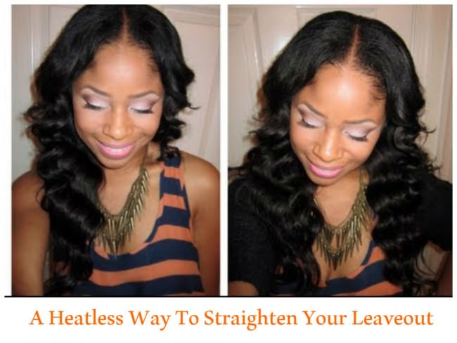 How to Blend Natural Hair and Straight Extensions witut Heat