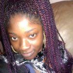 Colored Senegalese twists
