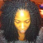 Crotchet braids protective style
