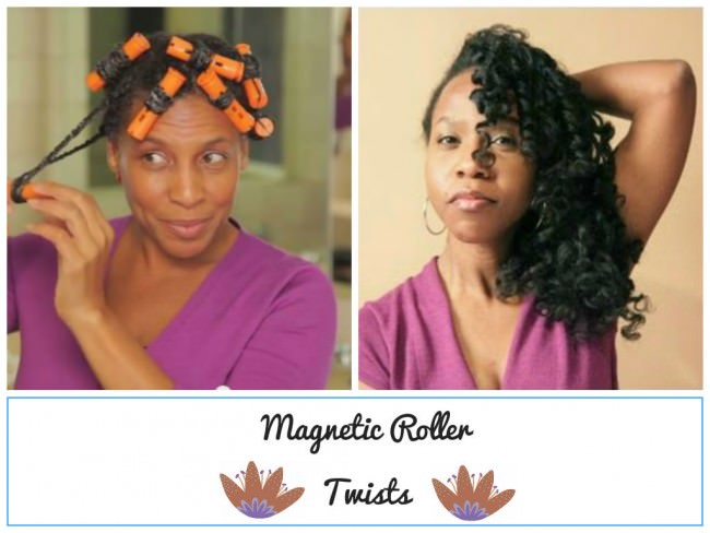 Black Hair Roller Set Styles: A Simple Way To Stretch Your