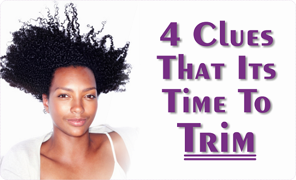 4 clues that it's time to trim