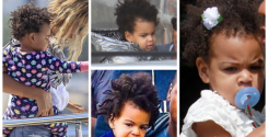 Blue Ivy Carter hair pictures