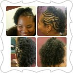 Braid detail natural style shared by Ja'Naye