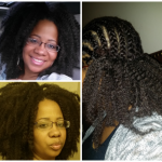 Crochet braids with Marley hair shared by Kyatawna