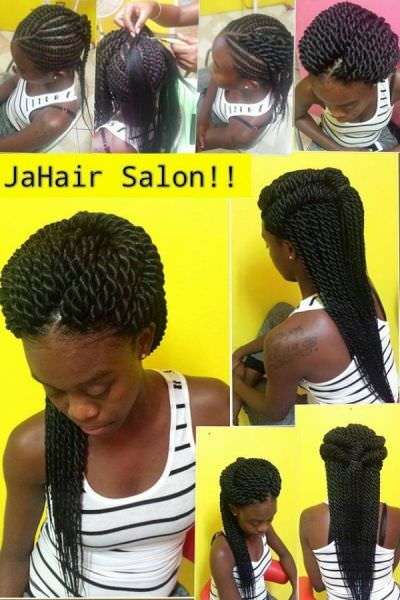 Crotchet twists by jahair salon fb