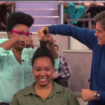 Dr. Oz Talks Natural Hair And Helps With A Big Chop