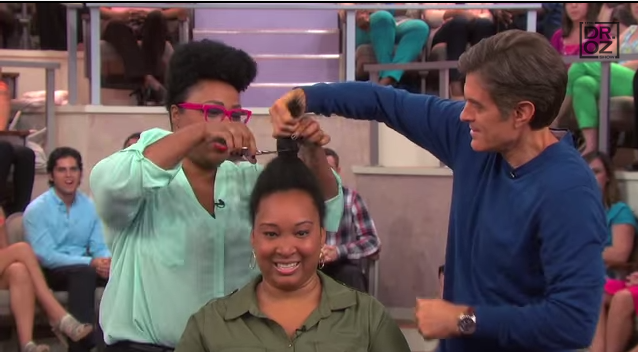 Dr Oz Talks Natural Hair