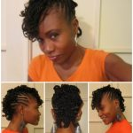 Flat Twisted Curly Mohawk