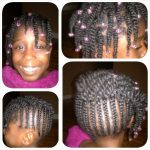 Kids style cornrows and twists shared by Brandy