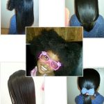 3.5 year old Na'Eliah – Blow dried And Flat Ironed Hair Shared By Michelle