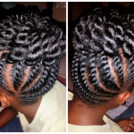 Flat Twist Updo Shared By Tamika