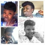 Updo by sew-xtra styles by shon