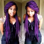 Purple braids – Wow!