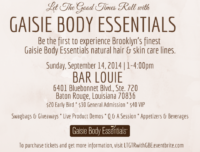 Let The Good Times Roll With Gaisie Body Essentials