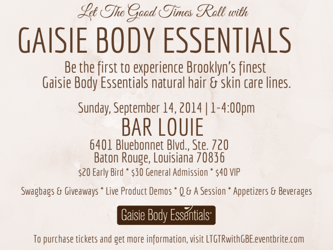 Let The Good Times Roll With Gaisie Body Essentials ...