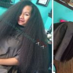Ceramic Phusion On 28 Inch Natural Hair