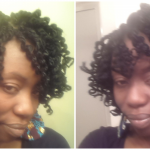 Short kinky twist