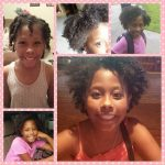 10 year old Kiara's twist out shared by Tameka