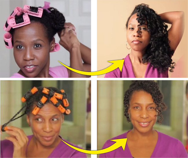 2 Magnetic Roller Sets - A Simple Way To Stretch Your Natural Hair