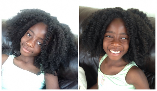7 Year Old Sharae's Natural Hair