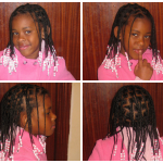 7 Year Old With Beads and Braids Shared By Katia
