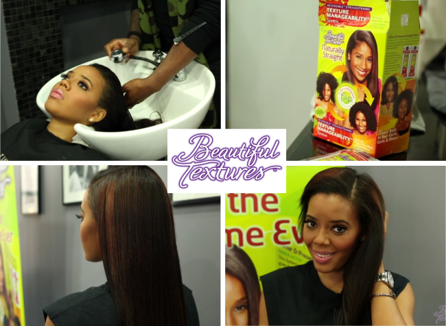 Angela Simmons Beautiful textures brand ambassador