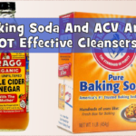 Baking Soda And ACV Are NOT Effective Cleansers – Now Here Is A Little Proof