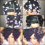 Flat Twist And Curl With Perm Rods